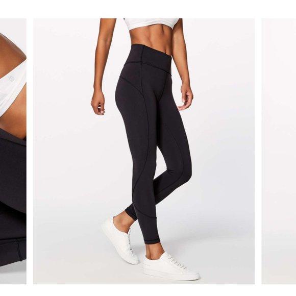 Lululemon In Movement leggings black size 2